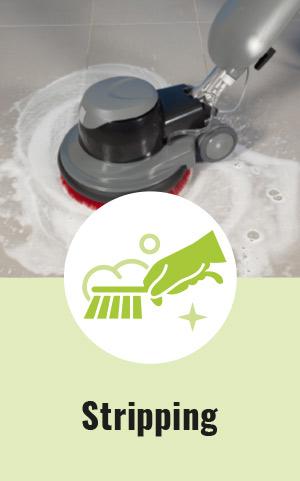 Floor stripping - Geriden Services